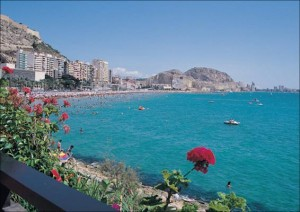 El Saladar Beach in Alicante