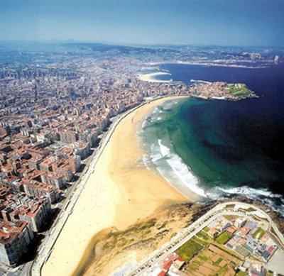 Viaje a Gijón, el lugar más sorprendente del paisaje asturiano