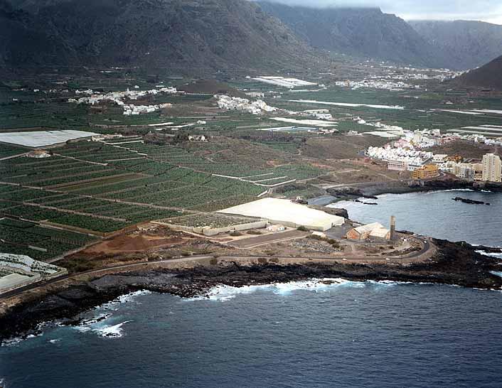 El paisaje costero de Los Silos