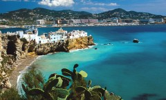 Recorriendo el paisaje de Ibiza