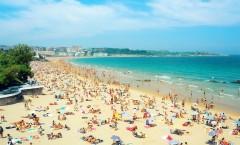 El Sardinero, el paraíso de Santander