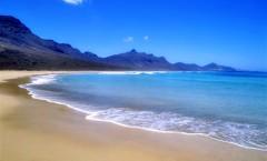 Playas paradisíacas en Fuerteventura.