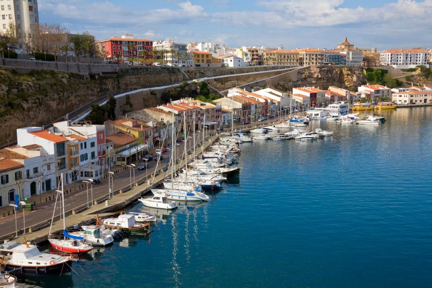 Foto del puerto de Mahón