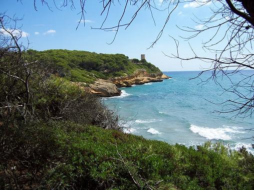 Parque natural Punta de la Mora