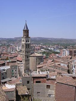 Fraga, ciudad dividida