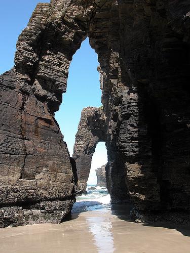 Playa de las Catedrales: Las formas de la naturaleza
