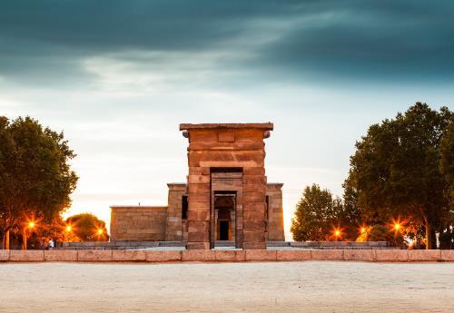 Templo Debod: un pedazo de Egipto en Madrid