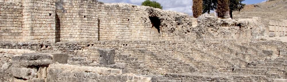 Valeria: una de las ruinas romanas más grandes de la meseta